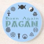 Born Again Pagan Beverage Coasters