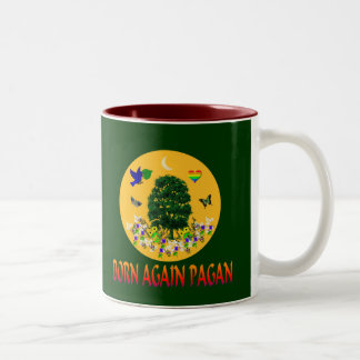 Born Again Pagan Two-Tone Coffee Mug