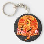 Born Again Phoenix Keychains