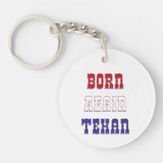 Born Again Texan Acrylic Key Chains