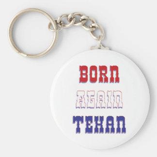Born Again Texan Key Chain