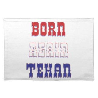 Born Again Texan Placemats