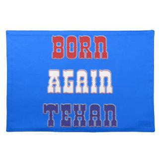 Born Again Texan Placemat