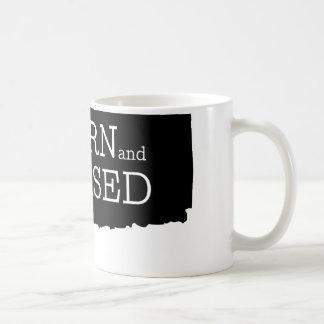 Born and Raised Connecticut Coffee Mug