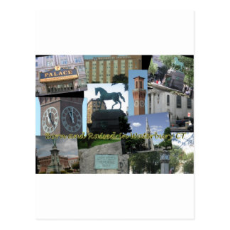 Born and Raised in Waterbury CT Postcards