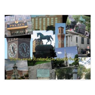 Born and Raised in Waterbury CT Postcard