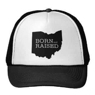 Born and Raised Ohio Trucker Hat
