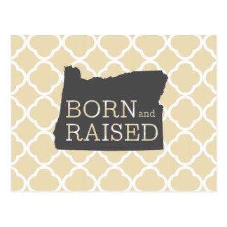 Born and Raised Oregon Postcard