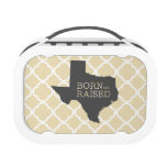 Born and Raised Texas Yubo Lunchboxes