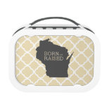 Born and Raised Winsonsin Yubo Lunch Boxes