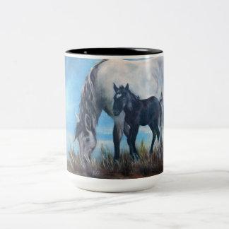 """Born At Dawn"" Wild Horse Coffee Mug"