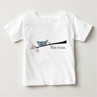 Born At Home Bird Nest Shirt