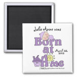 Born At Home-Sleeping Baby Girl Magnet