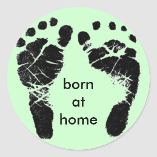 born at home stickers