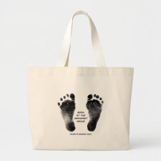 Born at the Margaret Hague Large Tote Bag