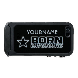 Born Awesome custom cases