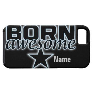 Born Awesome custom iPhone 5 Case-Mate