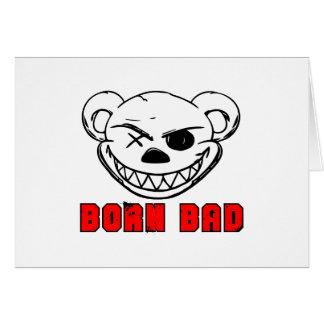 Born Bad Card