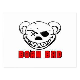 Born Bad Postcard