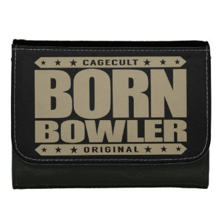 BORN BOWLER - Destined for Fastest Perfect Game Leather Wallet For Women