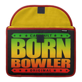 BORN BOWLER - Destined for Fastest Perfect Game Sleeve For MacBook Pro