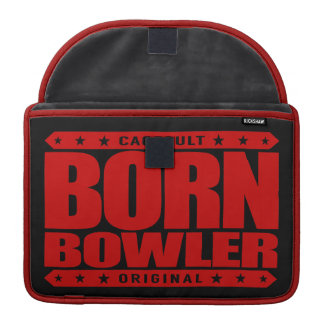 BORN BOWLER - Destined for Fastest Perfect Game Sleeve For MacBooks