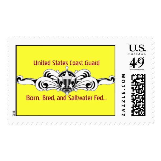 Born, Bred, and Saltwater Fed..., United S... Postage