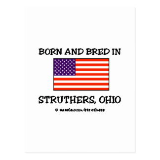 Born & Bred in Struthers Postcard