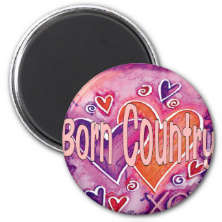 Born Country Magnets