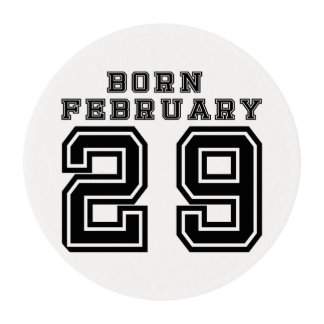 Born February 29 Edible Frosting Rounds