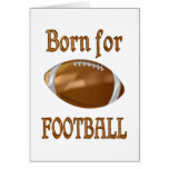 Born for Football Greeting Card