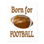 Born for Football Postcards