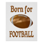 Born for Football Posters
