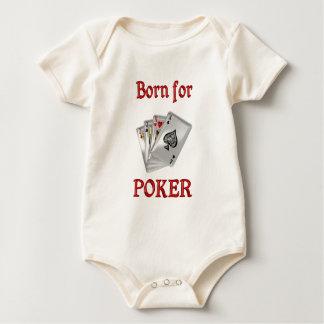 Born for Poker Baby Bodysuit