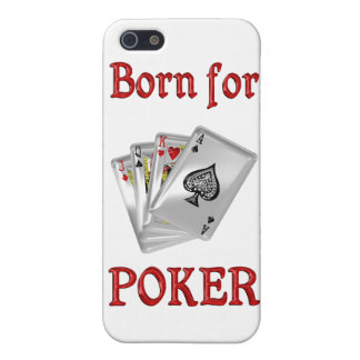 Born for Poker Case For iPhone 5