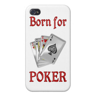 Born for Poker Covers For iPhone 4