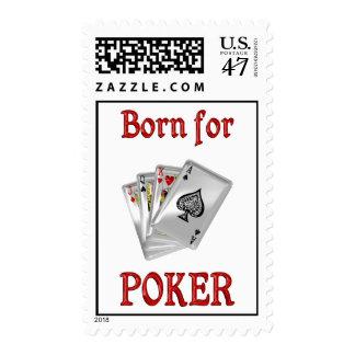 Born for Poker Postage