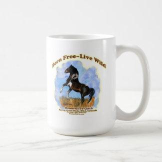 Born Free  Live Wild Coffee Mug