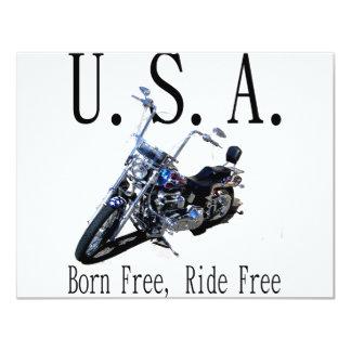 Born Free, Ride Free Card