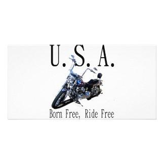 Born Free, Ride Free Photo Cards