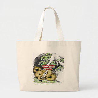 Born Free Taxed to Death Gifts and T-shirt Large Tote Bag