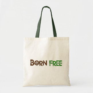 Born Free Tree Tote Bag