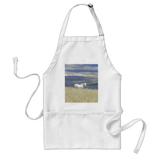 Born Free Wild Mustang Horse Adult Apron