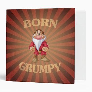 Born Grumpy Binder