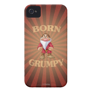 Born Grumpy iPhone 4 Cover