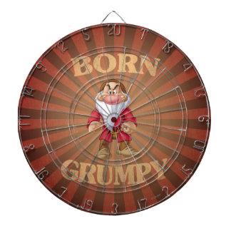 Born Grumpy Dartboard With Darts