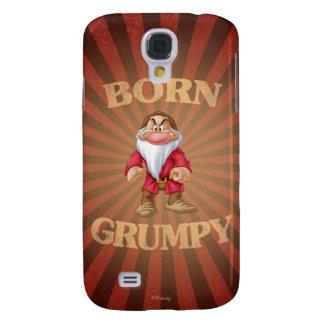 Born Grumpy Galaxy S4 Cover