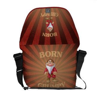 Born Grumpy Messenger Bag