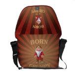 Born Grumpy Messenger Bags