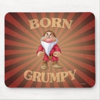 Born Grumpy Mouse Pad